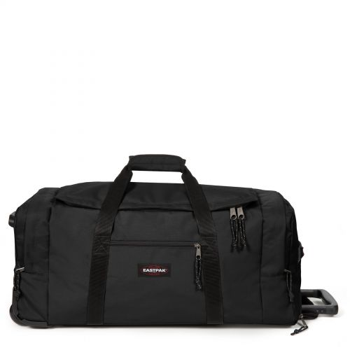 Leatherface L + Black Luggage by Eastpak - Front view