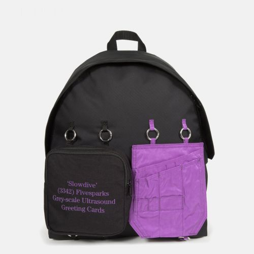 Raf Simons Padded Doubl'r Purple Quote Special editions by Eastpak - view 1