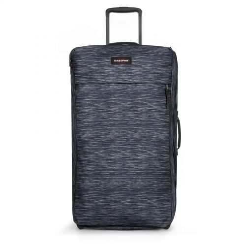 Traf'ik Light L Knit Grey Large Suitcases by Eastpak - view 1