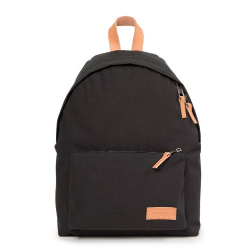 Padded Sleek'r Super Black by Eastpak - Front view
