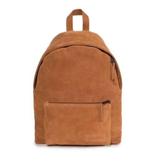Padded Sleek'r Suede Rust Leather by Eastpak - view 1