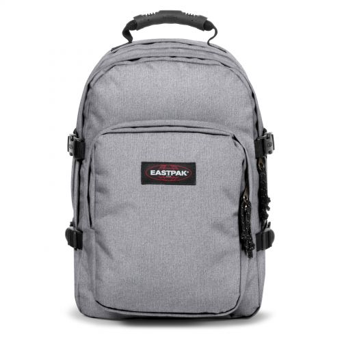 Provider Sunday Grey Backpacks by Eastpak - Front view