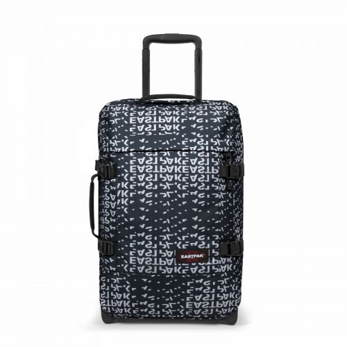 Tranverz S Bold Black Luggage by Eastpak - Front view