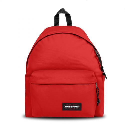 Padded Pak'r® Teasing Red Backpacks by Eastpak - Front view