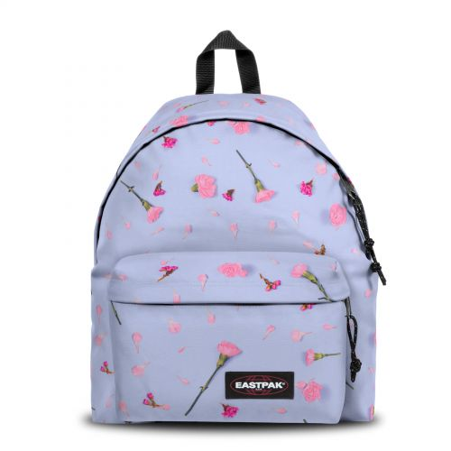 Padded Pak'r® Carnation Blue Backpacks by Eastpak - Front view