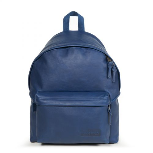 Padded Pak'r® Blue Leather Leather by Eastpak - view 1
