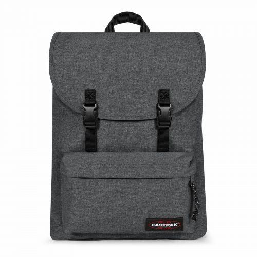 London + Black Denim Laptop by Eastpak - view 1
