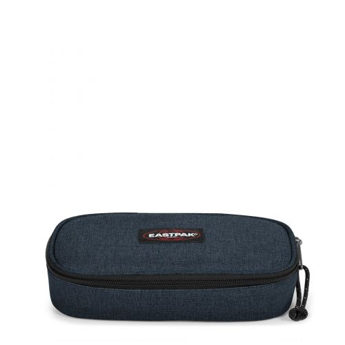 Oval Triple Denim  by Eastpak - Front view