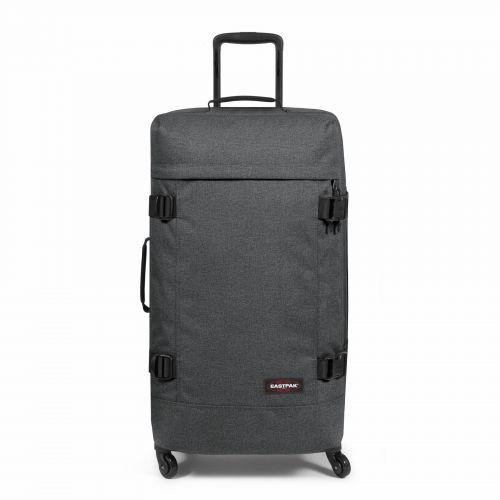 Trans4 L Black Denim Large Suitcases by Eastpak - view 1
