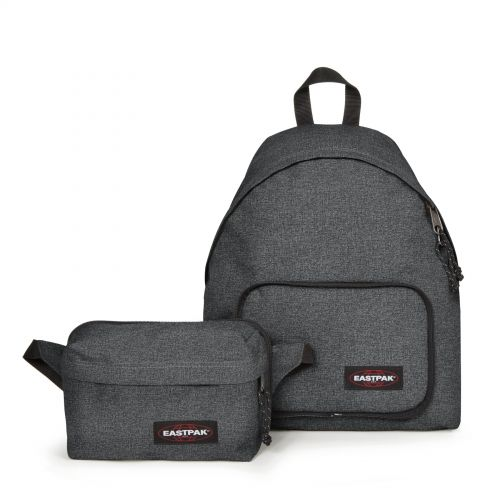 Padded Travell'r Black Denim Travel by Eastpak - view 10