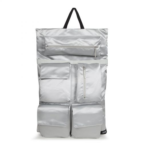 Raf Simons Poster Backpack Satin Couple White
