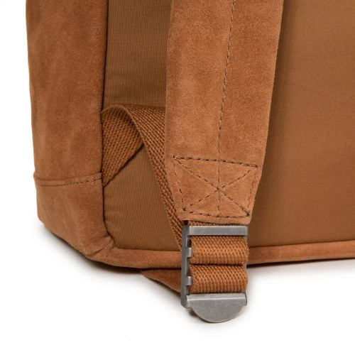 Padded Sleek'r Suede Rust Leather by Eastpak - view 10