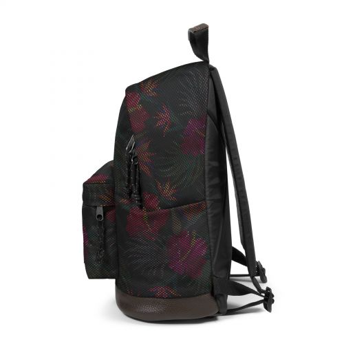 Wyoming Mesh Black Hibiscus Study by Eastpak - view 10