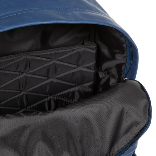 Padded Pak'r® Blue Leather Leather by Eastpak - view 11