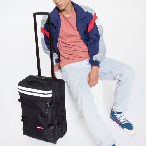 Tranverz S Reflective Black Luggage by Eastpak - view 13