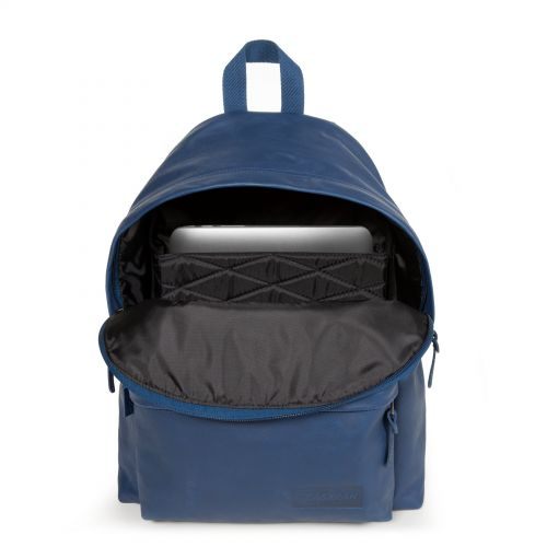 Padded Pak'r® Blue Leather Leather by Eastpak - view 13