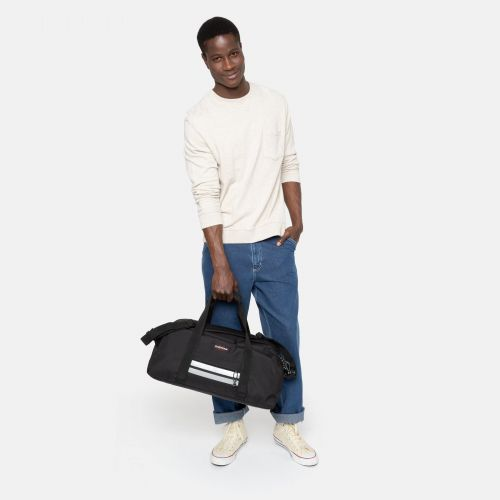Stand + Reflective Black Weekend & Overnight bags by Eastpak - view 13