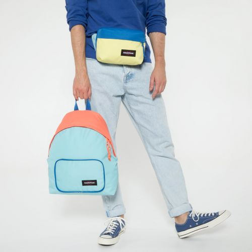 Padded Travell'r Blocked Blue Travel by Eastpak - view 14