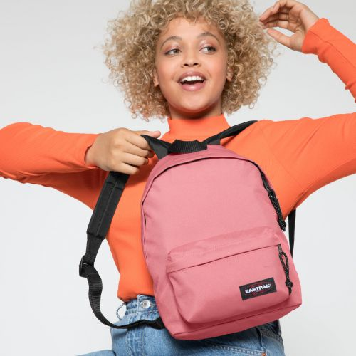 Orbit XS Seashell Pink Backpacks by Eastpak - view 2
