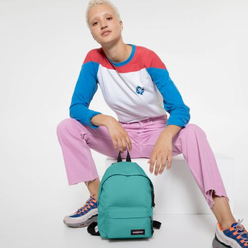 Orbit XS Lagoon Blue Backpacks by Eastpak - view 2