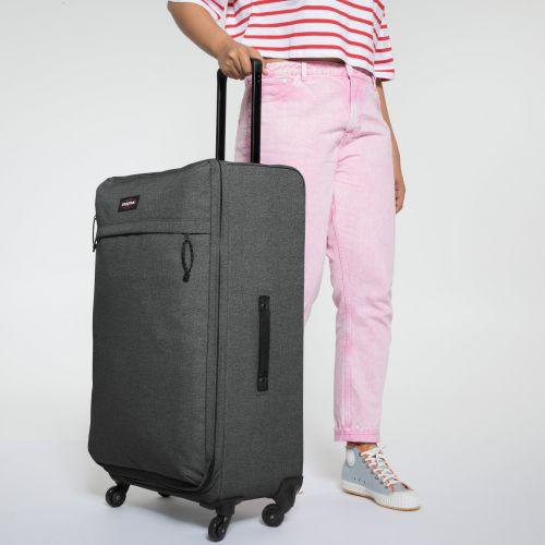 Traf'ik 4 L Black Denim Large Suitcases by Eastpak - view 2
