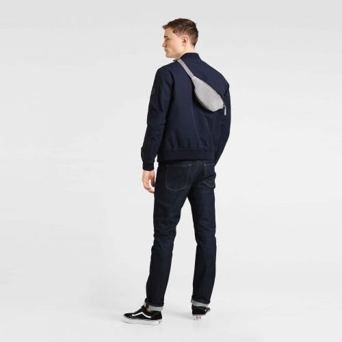 Springer Suede Grey Leather by Eastpak - view 2