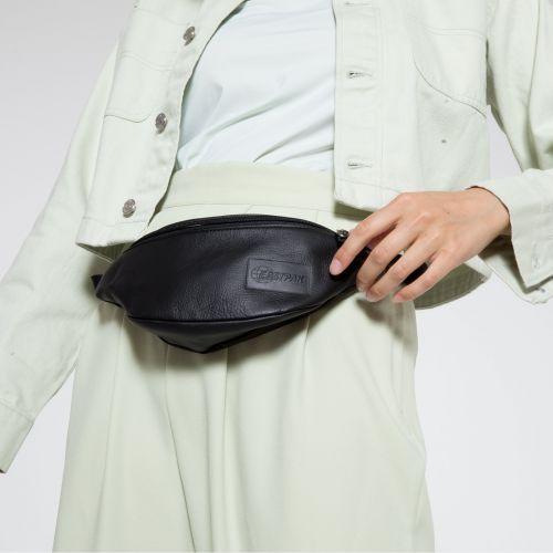 Springer Black Ink Leather Under £70 by Eastpak - view 2