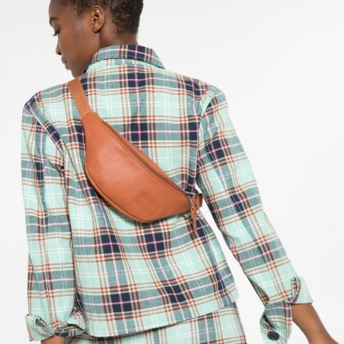 Springer Brandy Leather New by Eastpak - view 2