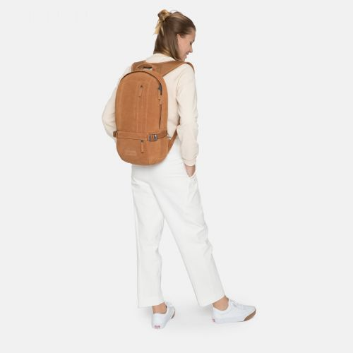 Floid Suede Rust Leather by Eastpak - view 2