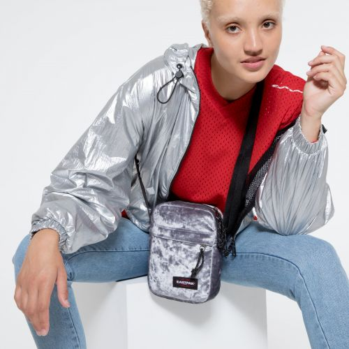 The One W Crushed Grey Shoulderbags by Eastpak - view 2