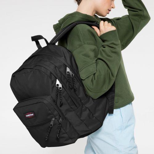 Pinnacle L Black Backpacks by Eastpak - view 2