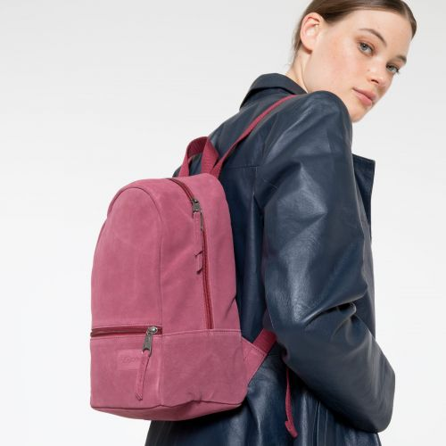 Lucia M Suede Merlot Leather by Eastpak - view 2
