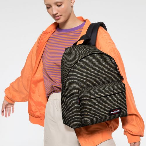 Padded Pak'r® Twinkle Gold Backpacks by Eastpak - view 2