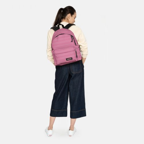 Padded Pak'r® Stripe-it Marshmellow Around Town by Eastpak - view 2