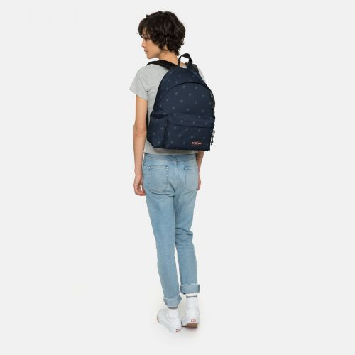Padded Pak'r® Palm Tree Navy Around Town by Eastpak - view 2