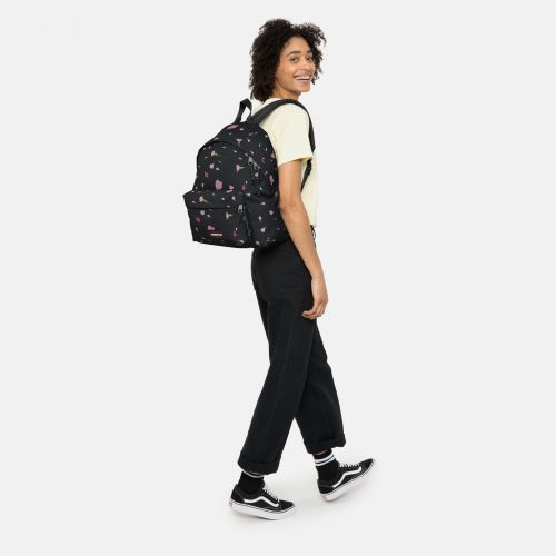 Padded Pak'r® Carnation Black Around Town by Eastpak - view 2