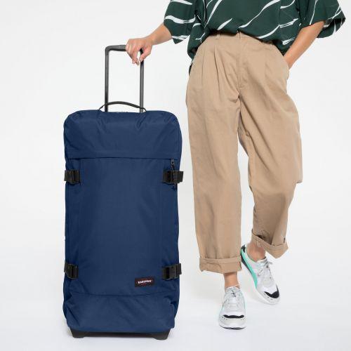 Tranverz L Gulf Blue Luggage by Eastpak - view 2