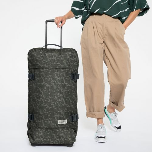 Tranverz L Camo'ed Dot Luggage by Eastpak - view 2