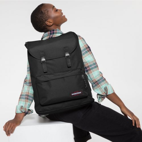 London + Black Backpacks by Eastpak - view 2