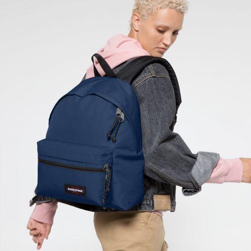 Padded Zippl'r Gulf Blue Backpacks by Eastpak - view 2