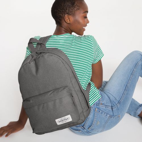 Padded Sling'r Muted Grey Backpacks by Eastpak - view 2