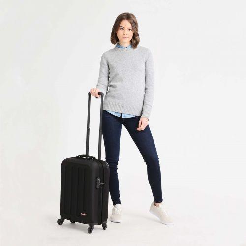 Tranzshell S Black Hard Luggage by Eastpak - view 2