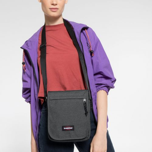 Flex Black Denim Shoulderbags by Eastpak - view 2