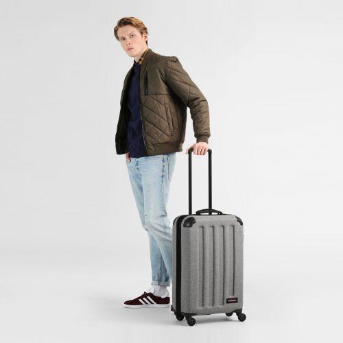 Tranzshell M Sunday Grey Hard Luggage by Eastpak - view 2