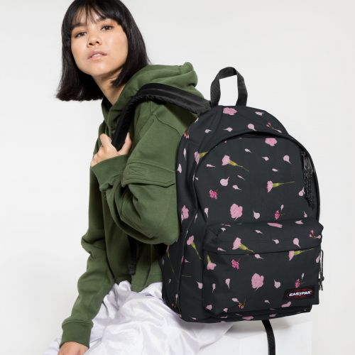 Out Of Office Carnation Black Backpacks by Eastpak - view 2