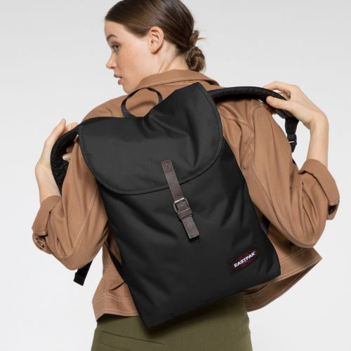 Ciera Black Backpacks by Eastpak - view 2