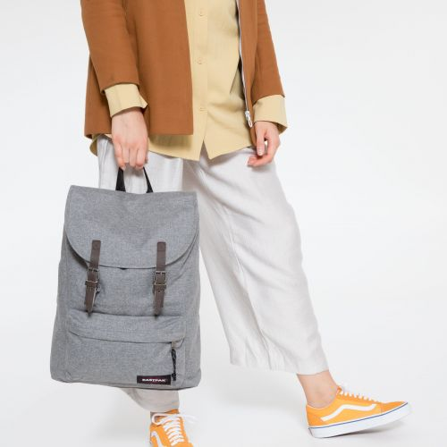 London Sunday Grey Backpacks by Eastpak - view 2