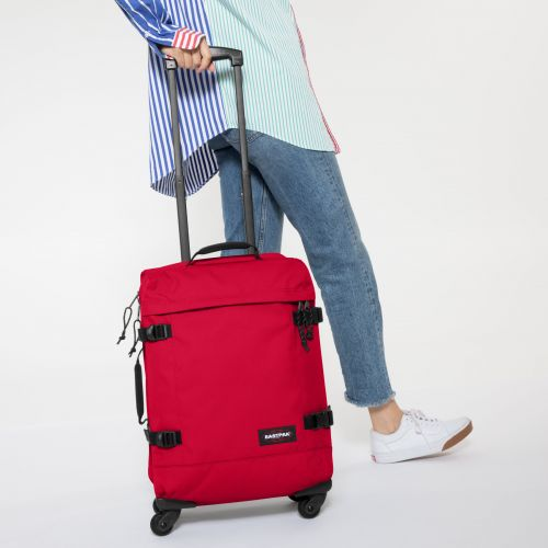 Trans4 S Sailor Red Luggage by Eastpak - view 2
