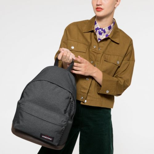 Wyoming Black Denim Backpacks by Eastpak - view 2