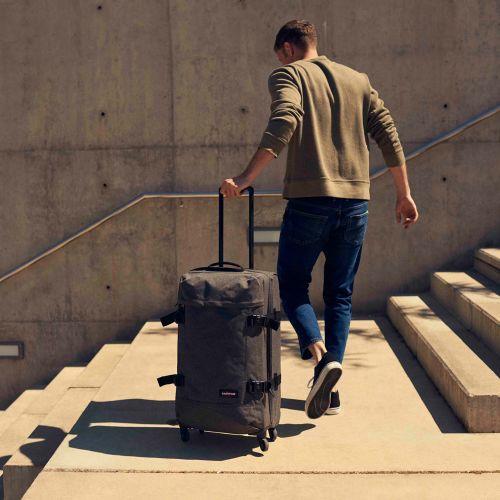 Trans4 M Black Denim Large Suitcases by Eastpak - view 2
